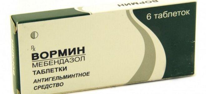 Таблетки Вормин: инструкция и правила приема