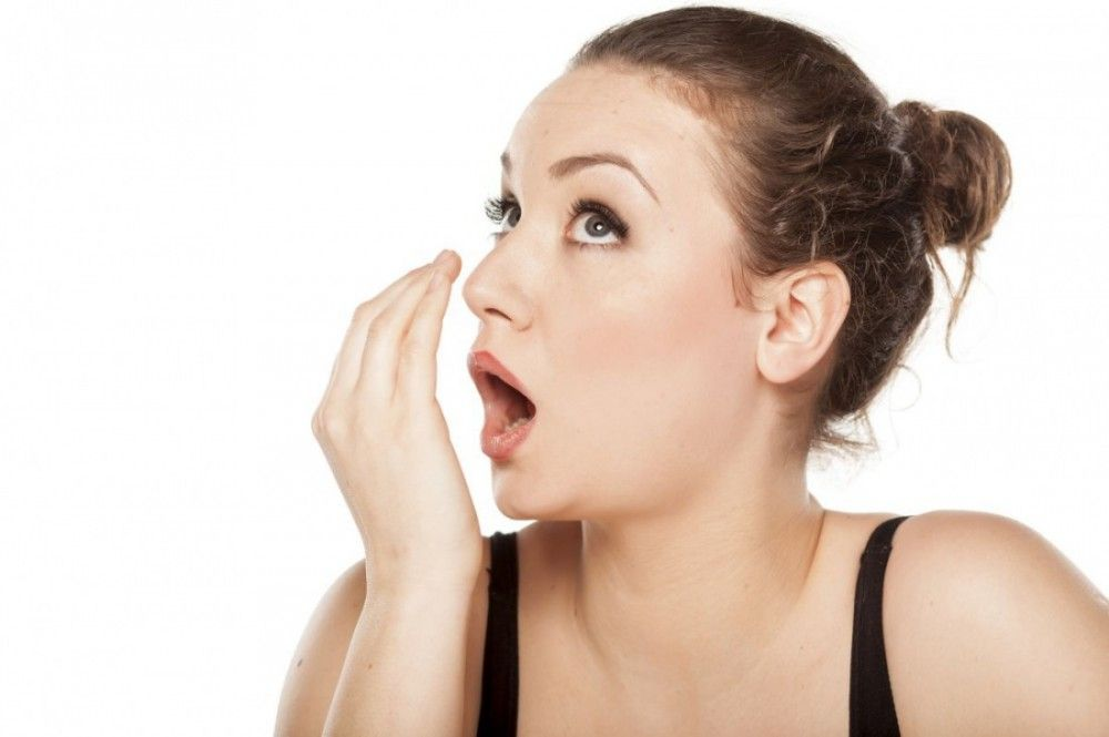 Паразиты причина запаха изо рта